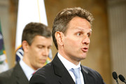 Timothy Geithner Arne Duncan Photos Photo