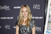 """Actress Jess Weixler attends the screening of """"Paper Heart"""" at AMC Loews 19th Street on August 5, 2009 in New York City."""