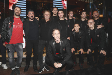 Gennaro Gattuso Patrick Cutrone Diesel Presents The AC Milan Special Collection