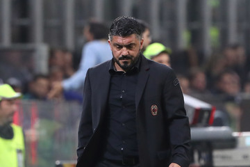 Gennaro Gattuso AC Milan vs. Real Betis - UEFA Europa League - Group F