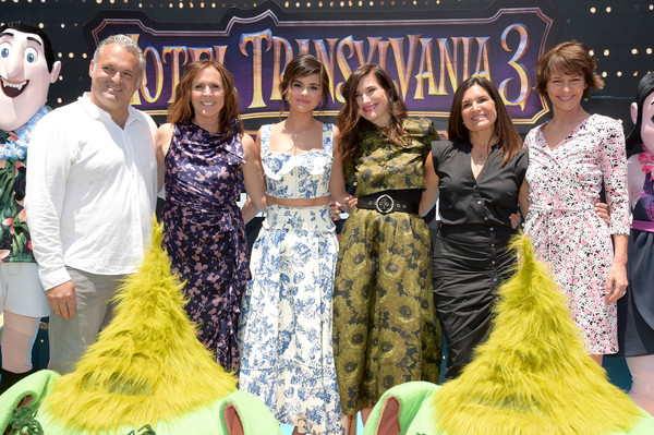 Columbia Pictures And Sony Pictures Animation's World Premiere Of 'Hotel Transylvania 3: Summer Vacation' - Red Carpet