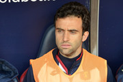 Giuseppe Rossi (Genoa)  in the bench during the serie A match between Genoa CFC and Benevento Calcio at Stadio Luigi Ferraris on December 23, 2017 in Genoa, Italy.