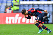 Giuseppe Rossi of Genoa enters the pitch during the serie A match between Genoa CFC and Spal at Stadio Luigi Ferraris on March 31, 2018 in Genoa, Italy.