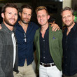 Geoff Stults Ira And Bill DeWitt Host Saint Candle Launch Benefiting St. Jude Children's Research Hospital At Mr. Chow