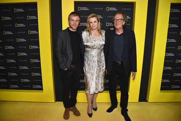 Geoffrey Rush National Geographic's Further Front Event In New York City - Red Carpet