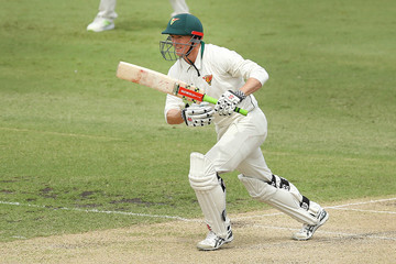 George Bailey Sheffield Shield Final - Queensland Vs. Tasmania: Day 2