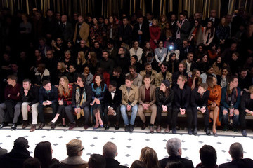George Barnett Burberry Prorsum: Front Row and Show