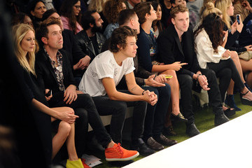 George Barret LFW: Front Row at Fashion East