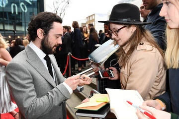 George Blagden Three Empire Awards - Roaming Arrivals