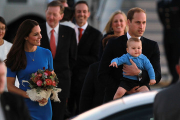 George The Duke And Duchess Of Cambridge Tour Australia And New Zealand - Day 14