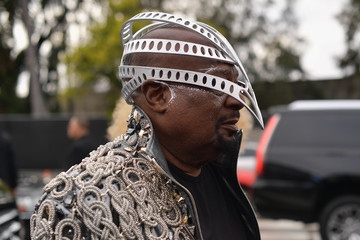 George Clinton 61st Annual Grammy Awards - Red Carpet