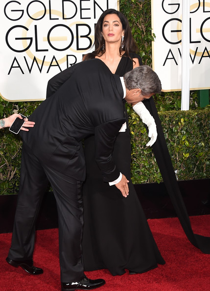 George Clooney at the Golden Globes January 2015 - Page 6 George+Clooney+Arrivals+Golden+Globe+Awards+YTYX1kBliG-l