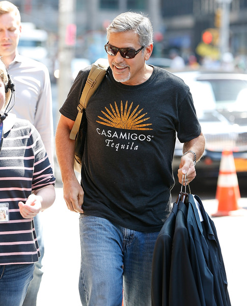 George Clooney attends the First Taping of 'The Late Show With Stephen Colbert'  8th September 2015 George+Clooney+Celebrities+Attend+First+Taping+-MfY8zlPbcUl
