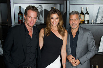 George Clooney Cindy Crawford Casamingos Tequila and Cindy Crawford Book Launch Party - Red Carpet Arrivals