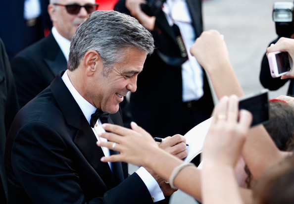 George Clooney and Sandra Bullock at the evening premiere of Gravity at Venice Film Festival George+Clooney+Gravity+Premieres+Venice+IhMPe9xDFVml