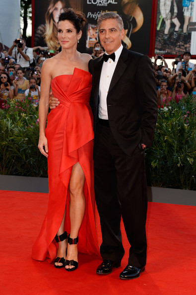George Clooney and Sandra Bullock at the evening premiere of Gravity at Venice Film Festival George+Clooney+Gravity+Premieres+Venice+nuMZRA4BK6Cl