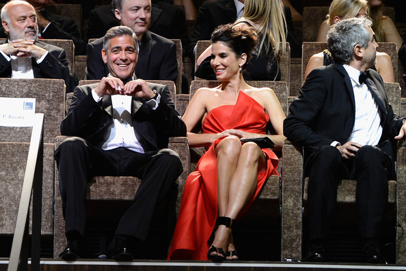George Clooney and Sandra Bullock at the evening premiere of Gravity at Venice Film Festival George+Clooney+Opening+Ceremony+Inside+70th+FAWr6d2k0xFl