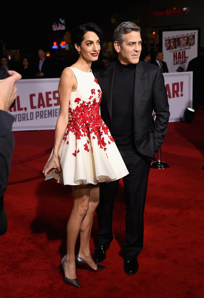 George Clooney and Amal Clooney at the Hail Caesar Premiere LA - Page 2 George+Clooney+Premiere+Universal+Pictures+iHPkeE0w71ll