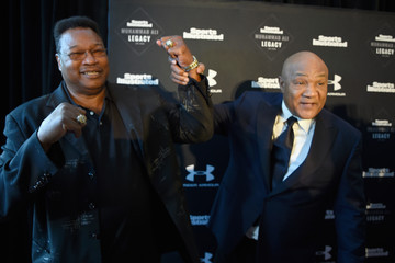 George Foreman Sports Illustrated Tribute to Muhammad Ali at the Muhammad Ali Center
