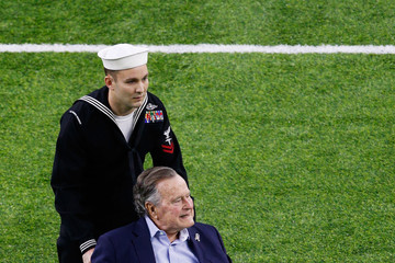 George H. W. Bush Super Bowl LI - New England Patriots v Atlanta Falcons