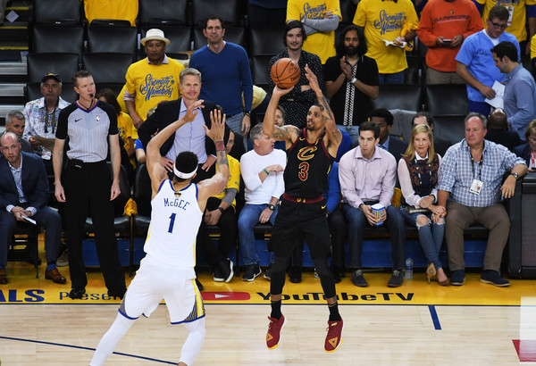 2bb0615bbd192 George Hill and Javale Mcgee Photos Photos - 2018 NBA Finals - Game ...