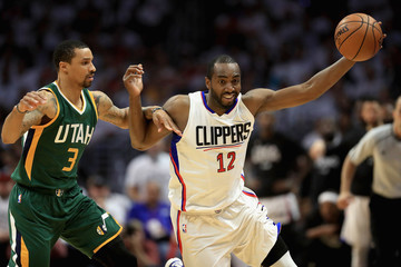 George Hill Utah Jazz v Los Angeles Clippers - Game Five
