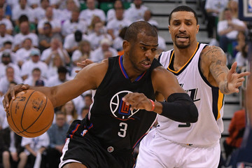 George Hill Los Angeles Clippers v Utah Jazz - Game Four