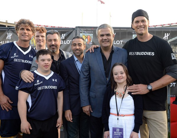 Hublot Joins Tom Brady to Support Best Buddies Challenge Kick Off at Harvard Field In Boston