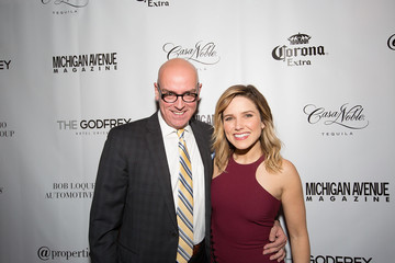 George Jordan Michigan Avenue Magazine's Late Spring Issue Release Celebration With Sophia Bush At The Godfrey Hotel Chicago