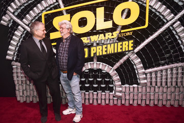 George Lucas Stars And Filmmakers Attend The World Premiere Of 'Solo: A Star Wars Story' In Hollywood