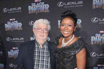 George Lucas The Los Angeles World Premiere of Marvel Studios' 'Black Panther'