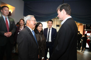 George Nolfi Ed Lee 'Birth of the Dragon' Special Screening With San Francisco Chinese Hospital