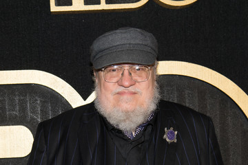 George R.R. Martin HBO's Post Emmy Awards Reception - Red Carpet