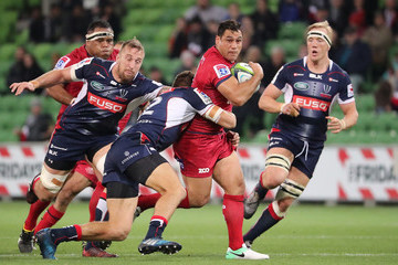 George Smith Super Rugby Rd 12 - Rebels v Reds