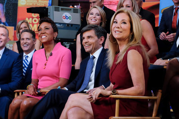 George Stephanopoulos Amy Robach 'Good Morning America's' 40th Anniversary