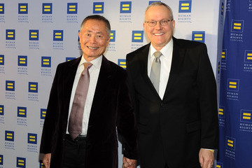 George Takei Brad Takei 2015 Human Rights Campaign Los Angeles Gala Dinner - Red Carpet