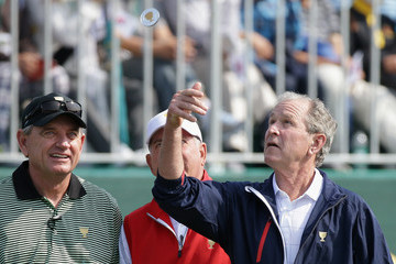 George W Bush The Presidents Cup - Round One