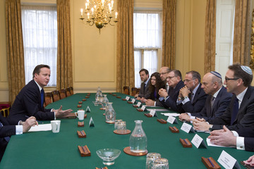 Gerald Ronson David Cameron Meets with the Jewish Leadership Council