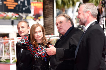Gerard Depardieu Isabelle Huppert 'Valley of Love' Premiere - The 68th Annual Cannes Film Festival