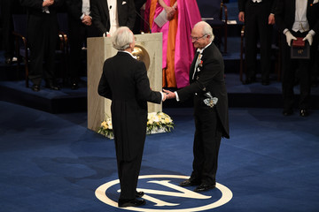 Gerard Mourou The Nobel Prize Award Ceremony 2018