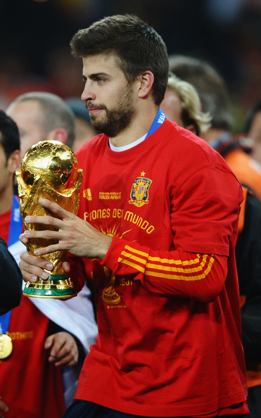 Gerard Pique - Netherlands v Spain: 2010 FIFA World Cup Final
