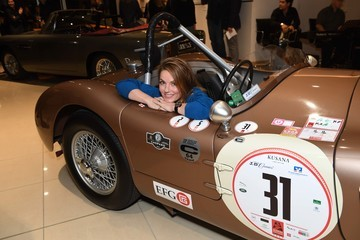 Geri Halliwell TAG Heuer Launch The New Formula 1 Limited Edition Fangio Timepiece