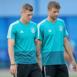 Toni Kroos and Thomas Mueller Photos