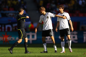 Alberto Undiano Germany v Serbia: Group D - 2010 FIFA World Cup