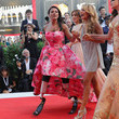 Gessica Notaro 'First Man' Premiere, Opening Ceremony And Lifetime Achievement Award To Vanessa Redgrave Red Carpet Arrivals - 75th Venice Film Festival