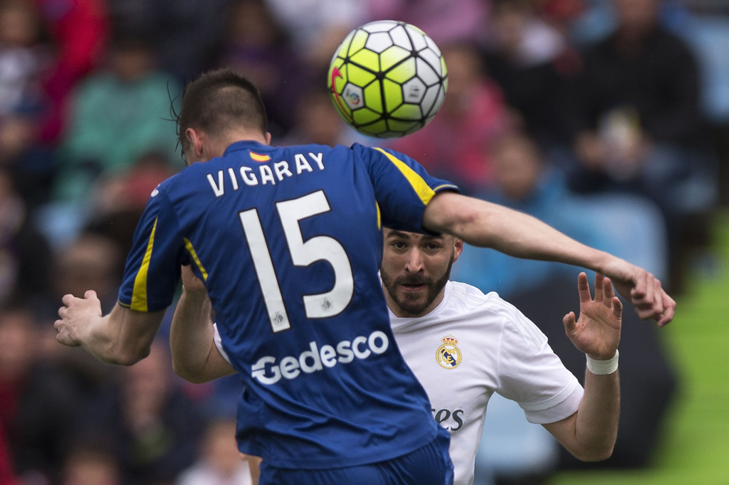 Real Madrid Vs Getafe Cf: Carlos Martin Vigaray In Getafe CF V Real Madrid CF