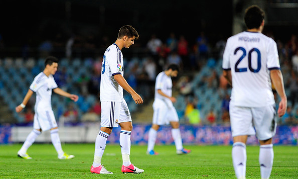 Real Madrid Vs Getafe Cf: Alvaro B. Morata In Getafe CF V Real Madrid CF