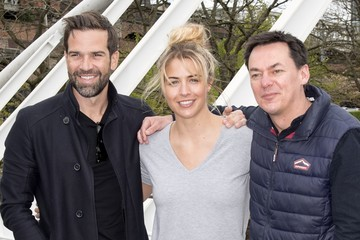 Gethin Jones Guests Attend Radio Lunch Manchester