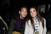 Hidetoshi Nakata and Laure Heriard Dubreuil attend the Giambattista Valli show as part of the Paris Fashion Week Womenswear Fall/Winter 2018/2019 on March 5, 2018 in Paris, France.
