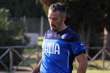 Gianluca Zambrotta Azzurri Stars Team Training Session